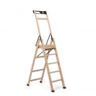 Деревянная лестница стремянка laScala5