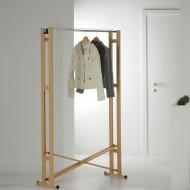 Деревянная напольная вешалка для одежды Foppapedretti Snake 90
