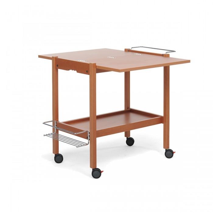 Складной сервировочный столик на колесиках Newton